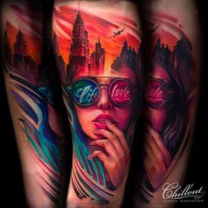 Татуировка Путешествия на руке