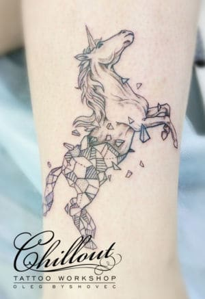 Unicorn Tatoo Oleg Byshovec