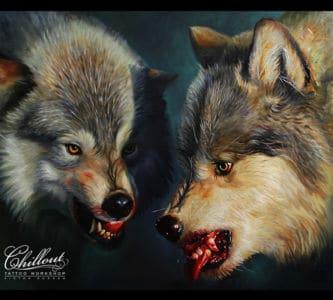 Art Волки